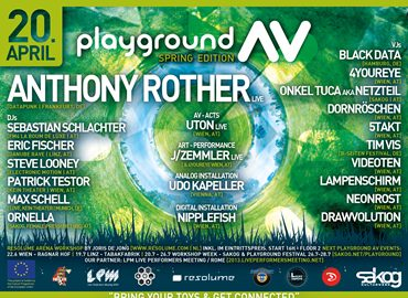 Image for: LPM 2013 Trimmelkam | April 20 Playground AV – Anthony Rother